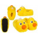 Cuddly slippers, duck, 100% polyester