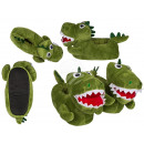 Cuddly slippers, dinosaurs, 3 double sizes