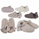 wholesale Shoes: Cuddly slippers, Pom Pom Deluxe