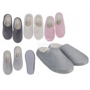 wholesale Shoes: Cuddly slippers, Comfort Style, 100% polyester