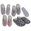 wholesale Shoes: Cuddly Slippers, Hearts, 100% polyester
