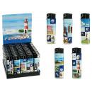 wholesale Lighters: Electric lighter,  Maritime, 5 ass., 50 pcs. per di