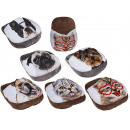 Foot warmer, Dogs & Cats, approx. 40 cm, 6 tim