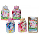 Großhandel Drogerie & Kosmetik: Wärmflasche, Einhorn, mit 100% Polyesterbezug