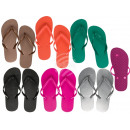 mayorista Zapatos: Zapatillas de baño de plástico, Pure Colors, sorbe