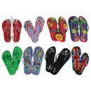 wholesale Shoes: Beach & bath  slipper, Summer  Feelings, 8 ass., ...
