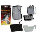 wholesale Wellness & Massage: Metal handwarmer,  for filling with lighter fuel, c