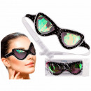 Eye Mask with Gel, Retro Sunglasses