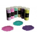 Dekoracyjne piasek, drobnoziarnisty, 6-różne kolor