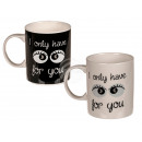 New Bone China Mug, I only have eyes for you, c