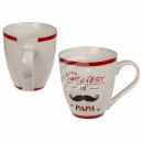 Jumbo New Bone China Mug, The Sweetest of Papa,
