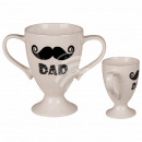 Jumbo New Bone China Mug, Dad, about 14 x 18 cm,