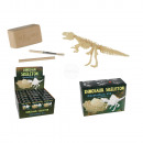 wholesale Experimentation & Research: Excavation kit, Dinosaur Skeleton, ca. 4 x 8 cm, 6
