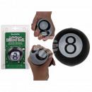 Antistress Ball, Billiard Ball, Black 8