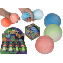 Squeeze ball, approx. 9 cm, 3-colored assorted
