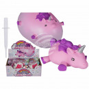 Inflatable balloon ball, unicorn, up to 30 cm