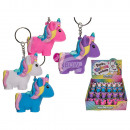 Metal Keychain, Squeeze Unicorn, Pop Far