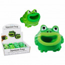 Squeeze Frog, Pop Tongue, about 4.5 cm, 12 pieces