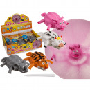 Inflatable Balloon Ball, animals, up to 25 cm, 4-