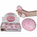wholesale Sports & Leisure: Squeeze ball, brain, about 8 cm, the net with head