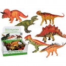 wholesale Blocks & Construction: Plastic figurines,  Dinosaurs, ca. 20 cm, 6 ass., 1