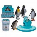 Knet-Schleim, Pinguin, approx. 6 cm approx. 60 g,
