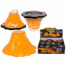 Kneading mucus volcano, about 10 cm, 12 pieces in