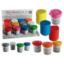 Großhandel Geschenkartikel & Papeterie: Knete in Dose mit 3D-Form im Deckel