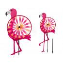 Éolienne, Flamingo, CA 28 x 35 x 100 cm