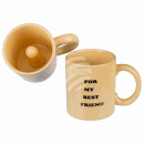 wholesale Erotic-Accessories: Ceramic mug, penis, for my best friend, about 9.5