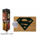 grossiste Tapis & Sols: Paillasson,  Superman, ca. 60 x 40 cm, avec carte d
