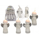 Candle, guardian angel, about 4 x 9 cm, 4 times as
