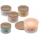 Scented Candle (Rose, Cotton, Melon, Jasmine) in g