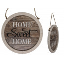 Natural Wood Sign, Home Sweet Home