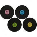 -Polypropylen  Tischset,  Schallplatte, D: ...