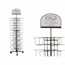 Metal display stand for paper napkins, H: approx