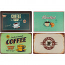 Polypropylene placemats, Coffee, approx. 44 x 29 c