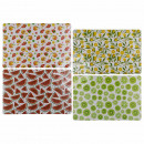 Polypropylene placemat, fruits (melon, lemon