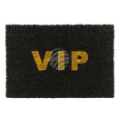 Doormat, VIP with glitter, approx. 60 x 40 cm