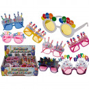 Plastic fun glasses, Happy Birthday