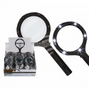 Reading Magnifier with 6 LED, about 24 cm, for 2 M