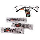 wholesale Glasses: Reading Glasses  with Metal Frame in PVC case, stre