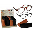 wholesale Reading Glasses: Reading Glasses  with plastic frame in black & brow
