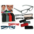 wholesale Reading Glasses: Reading glasses  with plastic frame, Pure Colours,