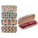 wholesale Glasses: Plastic spectacle case, melon & pineapple, app