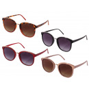 Sunglasses for ladies, 4 color assortment, FSCH150