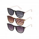 , Sunglasses for ladies 3 colors assorted, ZTP3871