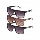 , 3-gekleurde zonnebrillen voor dames geassorteerd