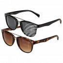 Okulary przeciwsłoneczne dla pań, 2-kolorowy miesz