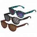 Okulary przeciwsłoneczne dla pań, 3 kolory mieszan